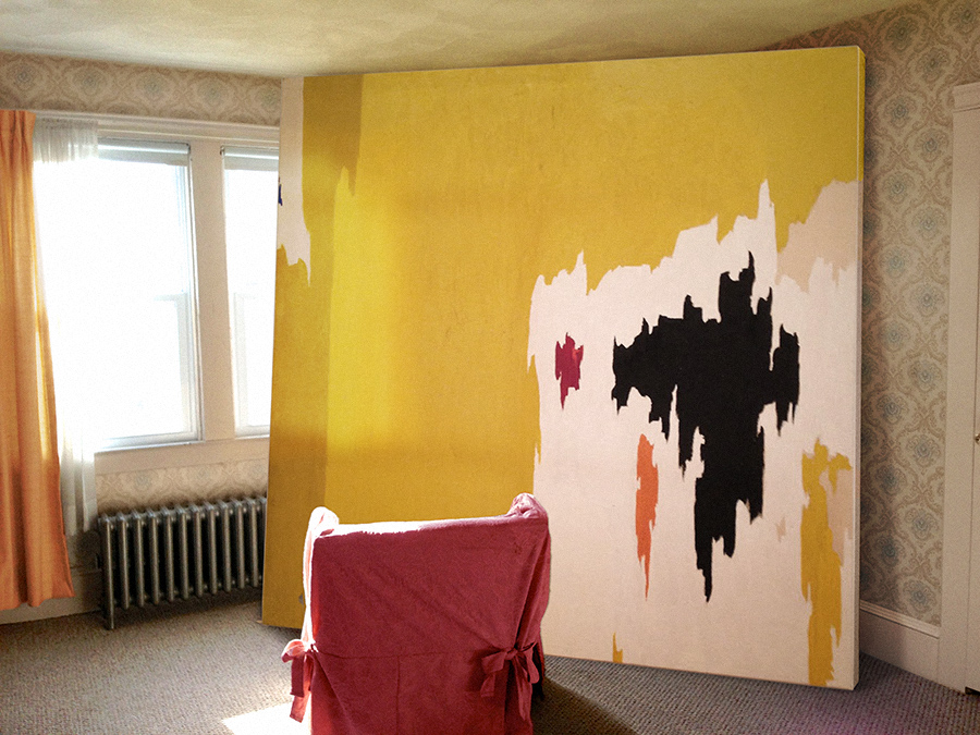 Clyfford Still,  Julia Kostreva Blog